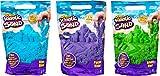 Kinetic Sand 0,9 kg kinetischer Sand zum Mischen, Formen und Kreieren, für Kinder ab 3 Jahren (zufällige Farbauswahl) (Stile variieren)