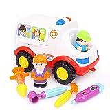 Lihgfw Ambulanz Spielzeug Elektrische Musik und Licht Universal Auto Kinderspielhaus Medizinische Geräte Rollenspiel Sensorische Erkenntnis Logik Denken Spiel Haus Interaktion
