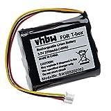 vhbw Akku kompatibel mit Tonies Toniebox Lautsprecher Boxen Speaker (2700mAh, 3,7V, Li-Ion)