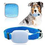 GreeSuit GPS-Tracker-Halsband für Haustiere, Katzen, Hunde, Tracker mit unbegrenzter Reichweite, Aktivitätsmonitor, wasserdichtes Tracking-Gerät, Anti-Verlust-Monitor