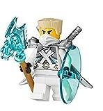 Lego Ninjago Minifigur Zane Titanium Ninja aus 70728 mit Waffen NEU