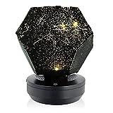 Tianbi Sternenhimmel-Projektionslampe, USB-Projektor-Nachtlicht, LED-Nachtlicht für Baby, Kind, Erwachsene, 3D-Galaxie-Nachttischlampe für Kinderzimmer