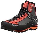 Salewa Herren MS Crow Gore-TEX Trekking-& Wanderstiefel, Black/Papavero, 42 EU