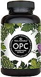 OPC Traubenkernextrakt - 240 Kapseln - Höchster OPC Gehalt nach HPLC - Laborgeprüftes OPC aus französischen Weintrauben - 1000mg Extrakt mit 700mg OPC - Vegan, in Deutschland produziert