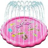 Aufblasbarer Pool Draussen Sprinkle and Splash Play-Matte, Sprinkler-Pad für Kinder über Haustiere, Sommergarten Outdoor-Spraywasser-Spielzeug LINGZHIGAN