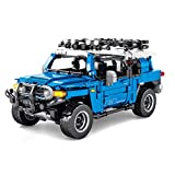 Sugeren Technik Geländewagen für Defender, Pull Back Off Road 4x4 Auto Spielzeug für Kinder, Mountain Off-Road Modellbausatz, 999Pcs Klemmbausteine Kompatibel mit Lego Technic 42110
