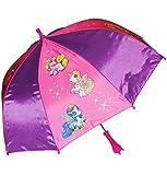 alles-meine.de GmbH Regenschirm -  Filly Pferde / Einhorn  - Kinderschirm Ø 68 cm - Kinder Stockschirm - Regenschirm - Schirm für Mädchen - Kinderregenschirm / Glockenschirm - ..