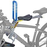 UrRider Neu Upgrade Fahrrad-Kindersitz, Faltbar, Tragbar, Werkzeugloser Schnellverschluss Frontmontage Kinderfahrradträger/Passend für Mountainbikes, Damenfahrräder & Falträder