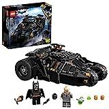 LEGO 76239 DC Batman Super Heroes Batmobile Tumbler: Duell mit Scarecrow, Spielzeugauto, Batman- und Scarecrow-Minifiguren für Kinder ab 8 Jahren