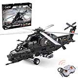 Fujinfeng 2.4G ferngesteuerte Hubschrauber Bausteine, 989 Stück Klemmbausteine Konstruktion Spielzeugmodelle Kompatibel mit Lego