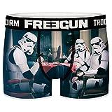 FREEGUN Star Wars Herren Boxershorts Funny Stormtrooper Krieg der Sterne Meme Druck 1er Pack S M L XL XXL, Größe:M, Farbe:Motiv 5 (SFSTT31BMPOK)
