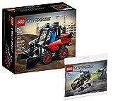 Collectix Lego Set - Lego Technic Kompaktlader 42116 + Lego Technic Hubschrauber 30465 (Polybag)