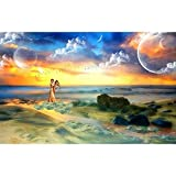 ZMGYA Puzzles 1000 Teile Jigsaw Puzzles für Art paintings-1000 1000 Puzzleteile Helle und farbenfrohe Puzzles