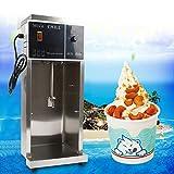 Speiseeisbereiter Stehende Kommerzielle Softeismaschine Eiscrememaschine Eiscreme-Bereiter Gefriergetränkemaschine Ice Cream Maker Eismaschine Eiscreme Maschine 350W