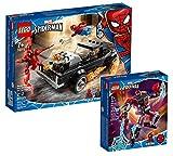 Collectix Lego Set - Spider-Man und Ghost Rider vs Carnage 76173 + Marvel Miles Morales Mech 76171