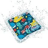 youfenghui Aufblasbare Bauchzeit Wassermatte Baby Kleinkinder und Kleinkinder Wasserspielmatte, Aufblasbares Baby Planschbecken für Sommer Baby Early Development Activity Center