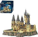 Modular Haus Bausteine, Hali Bote Hogwarts Castle Building Kit,12918 Teile Modular Magisches Schloss Kompatibel mit Lego Schloss Hogwarts 71043
