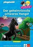 Playmobil: Der geheimnisvolle schwarze Hengst: Leseanfänger ab 6 Jahren: PLAYMOBIL Reiterhof - Lesen lernen - Leseanfänger von Matthias Bornstädt (7. August 2013) Gebundene Ausgabe