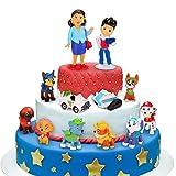 Sinwind Tortenfiguren, 12er MiniFiguren Tortendeko, Cake Topper Kuchendeko, Geburtstags Party liefert Cupcake Figuren, Party Kuchen Dekoration Lieferungen, Tortendeko Junge, Kuchen Deko