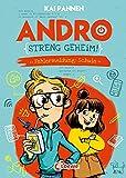 Andro, streng geheim! (Band 1) - Fehlermeldung: Schule: Erlebe Andros witzigen Schulalltag - Lustiges Kinderbuch für Jungen und Mädchen ab 8 Jahren