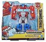 Transformers Spielzeuge Cyberverse Action Attackers Ultra-Klasse Optimus Prime Action-Figur – Wiederholbare Bash Action Attacke – Für Kinder ab 6 Jahren, 19 cm
