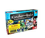 Noris 606013596 Kinder-Quiz, der Familen-Spielspaß für Zuhause oder unterwegs, für 1-6 Spieler ab 6 Jahren