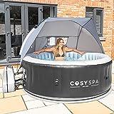 CosySpa Whirlpool Überdachung - Whirlpool Sonnenschutzdach | Whirlpool Zubehör | Whirlpool Garten Zubehöre | Outdoor Whirlpool Dach