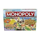 Monopoly Animal Crossing New Horizons Edition Brettspiel für Kinder ab 8 Jahren, lustiges Spiel zum Spielen für 2-4 Spieler, englische Version