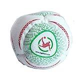 Juggle Pro Footbag Hacky Sack Worldcup Freestyle 8 Paneele aus synthetischem Wildleder und mit Kunststoff gefüllt. Für Circle und Freestyle Kicking.