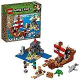 Minecraft LEGO Das Piratenschiff Adventure 21152   386 Teile Bausatz