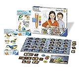 tiptoi Ravensburger 00802 - Starter-Set: Stift und Buchstaben-Spiel + 2X Create Stickerbögen- die ersten sprechenden Sticker