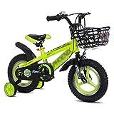 LITINGT Kinder Fahrrad, 14' 16' Kid Bike, Removable Stützrad, Fahrrad Boy Fahrradkinder City Mountain Bike Boy Stadt Buggy