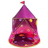 Spielzelt, Zelt für Mädchen, Kinderzelt für drinnen und draußen, tragbares Kinderspielzelt mit Tragetasche, Geschenk für Kinder