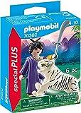 PLAYMOBIL Special Plus 70382 Ninja Krieger mit Tiger, Ab 4 Jahren