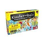 Noris 606013595 Kinder-Quiz, der Familen-Spielspaß für Zuhause oder unterwegs, für 1-6 Spieler ab 4 Jahren