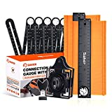 Saker Verbindungs-Konturlehre mit Werkzeug-Sets, Konturlehre mit Schloss 25,4 cm, unverzichtbares Werkzeug für Heimwerker (Paket)