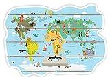 Farbklecks Collection Musikboxregal Weltkarte Kinder