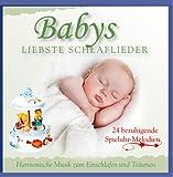 Babys liebste Schlaflieder - Harmonische Musik zum Einschlafen und Träumen - 24 beruhigende Spielhuhr Melodien - Entspannungsmusik für Babys