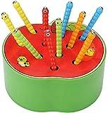 Afufu Kinderspielzeug ab 1 2 3 4 5 Jahren, Holz Montessori Spielzeug für Babys, Holzspielzeug Fangen Insekten Spiel Frühe Lernspielzeug Pädagogisches Geschenk für Kinder Kleinkind Jungen Mädchen