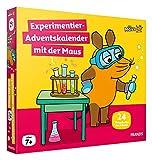 FRANZIS 67185 - Experimentier-Adventskalender mit der Maus, 24 Experimente zum Staunen, Lachen und Rätseln, für Kinder ab 7 Jahren