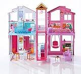 Mattel Barbie DLY32 - Barbie 3 Etagen Stadthaus, puppenhaus ab 3 Jahren