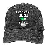 HESMENO Baseball Cap - Besonders interessante Geschenke für 2021 Outdoor Tracking Sport - Verstellbare Kappe - Schwarz