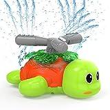 Kiztoys Wasserspielzeug Sprinkler für Kinder Gartensprinkler für Kinder in Schildkrötenform Spinning and Splashing Turtle Fun Toy für Kinder im Freien Spielen
