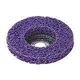 Poly Strip Disc 100/115 / 125mm Schleifscheibenlack Rostentferner Bohrung 16 / 22mm Reinigungsrad für Winkelschleifer Polierscheibe-_125 x 22 mm