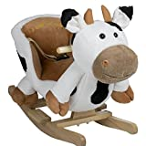 BabyGo Rocker Schaukeltier Kuh - Schaukelkuh Cow ab 6 Monaten