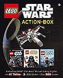 LEGO Star Wars Action-Box: Exklusives LEGO Star Wars Miniset X-Wing-Fighter mit 61 Teilen • 3 LEGO Bücher • Über 500 Sticker