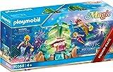 PLAYMOBIL Magic 70368 Korallen-Lounge der Meerjungfrauen, Mit Lichteffekt und Sammelperlen, Ab 4 Jahren