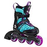 K2 Inline Skates MARLEE PRO Für Mädchen Mit K2 Softboot, Light Blue - Purple, 30F0225