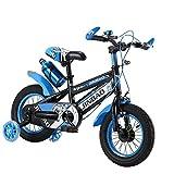 Baby Kinderfahrrad Jungen Mädchen 3-12 Jahren Freestyle Fahrrad 18 Zoll Stützräder Kinderfahrrad Laufrad Kinder Fahrrad