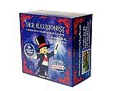 MAGIC SECRET - Zauberkasten Erwachsene und Kind - Der Illusionist - +40 Profi Zaubertricks - ab 5 Jahren - 88 Erklärungsvideos (App iOS & Android) + 11 Zubehör + Coaching durch einen Profi-Magier